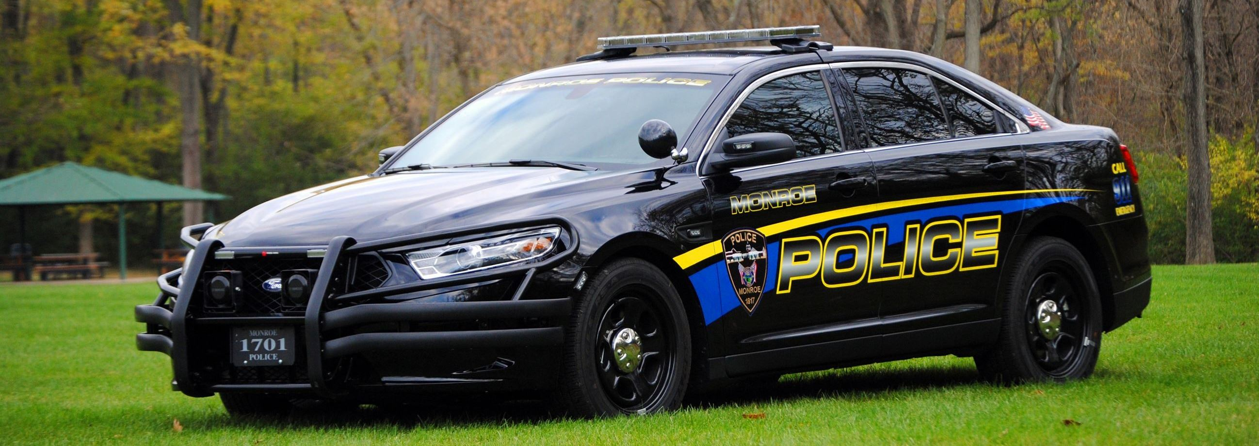Image of Monroe Police Car